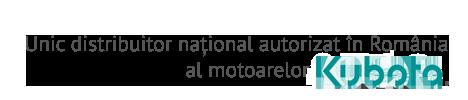 Unic distribuitor național autorizat în Romania al motoarelor Kubota